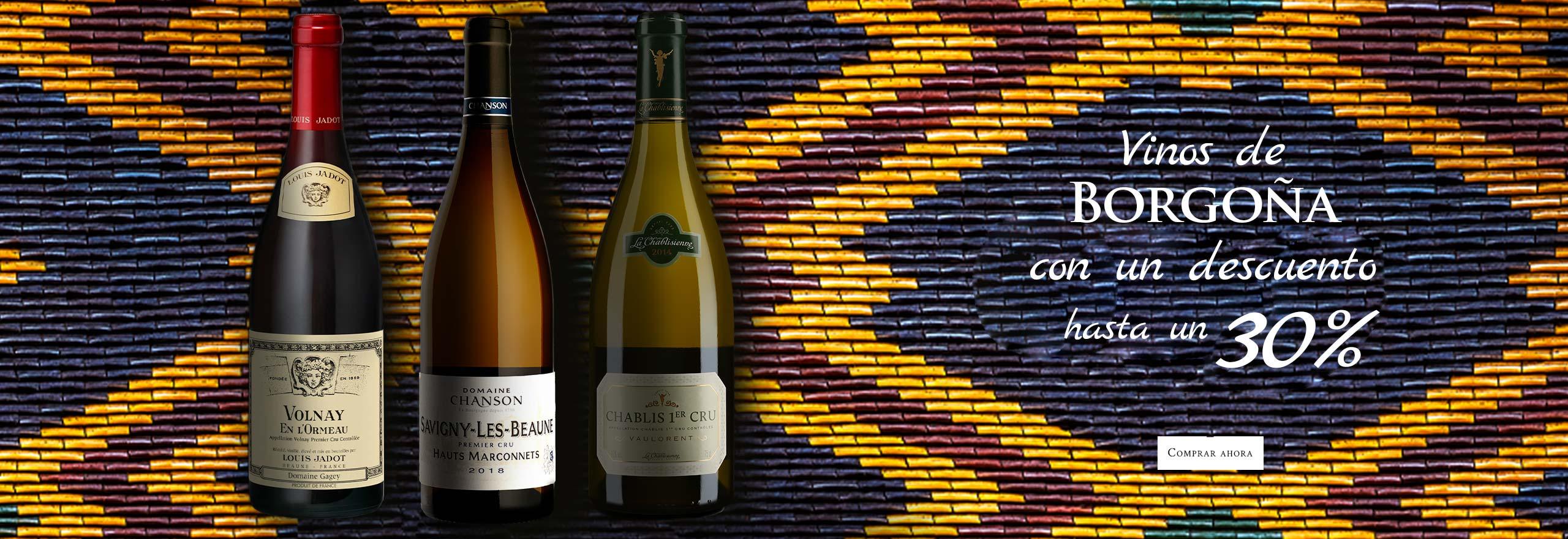Precios rebajados vinos de Borgoña : un descuento hasta un 30% para empezar bien el otoño