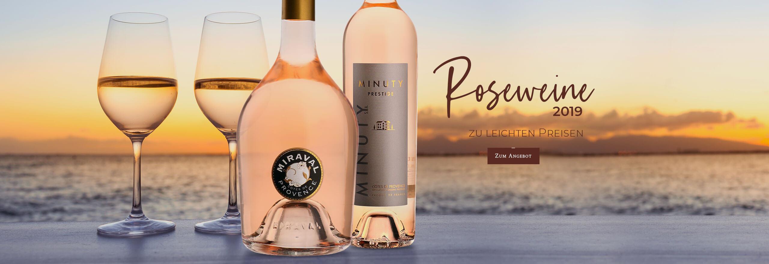 Roseweine zu leichten Preisen!