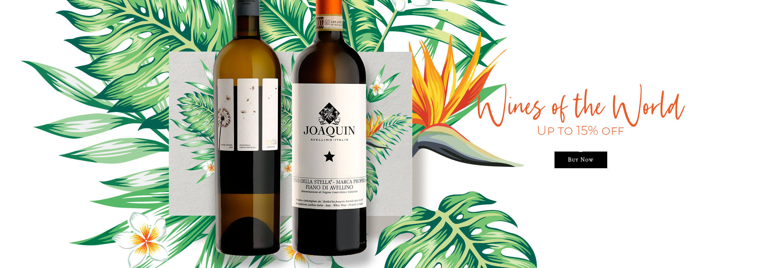Wines of the World: up to 15% discount on our selection!