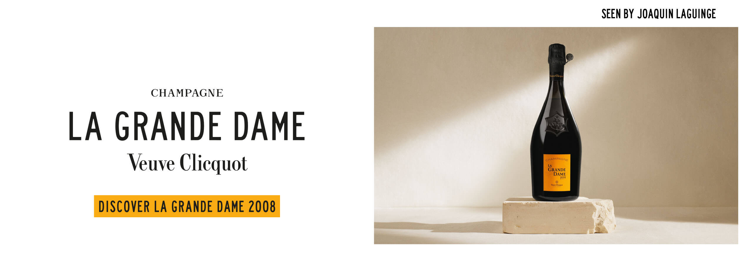 Champagne Veuve Clicquot La Grande Dame 2008