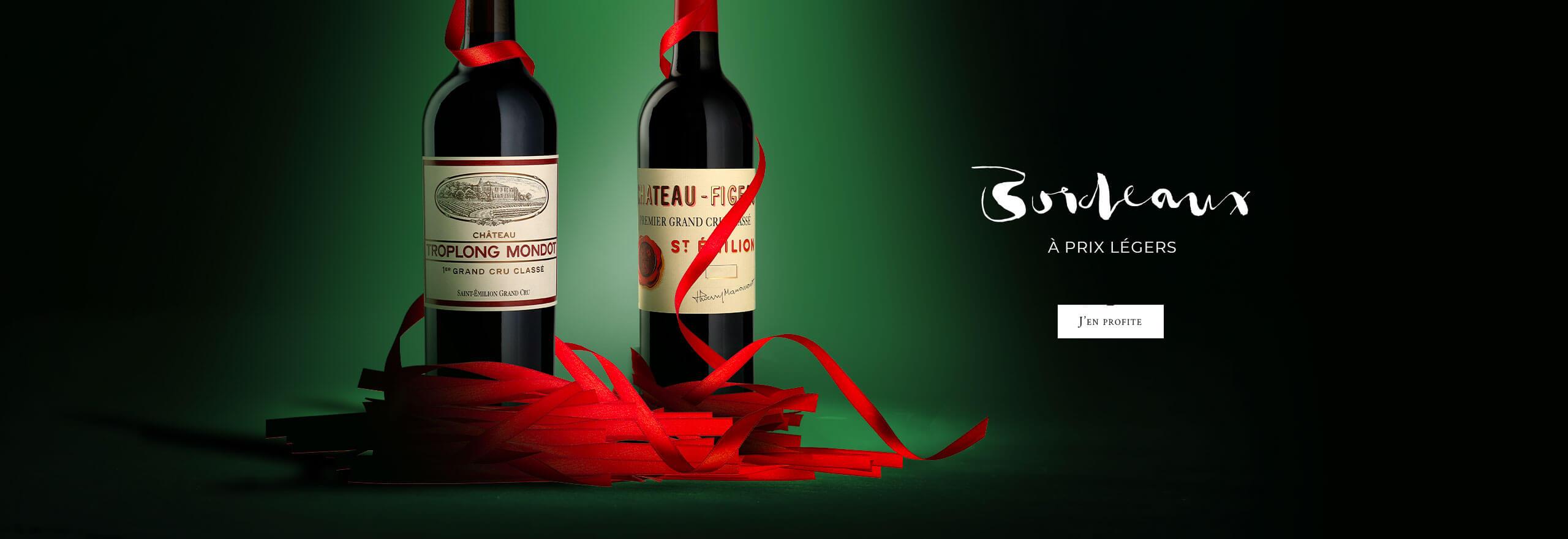 Bordeaux à prix légers : Jusqu'à -30% de remise dès maintenant !