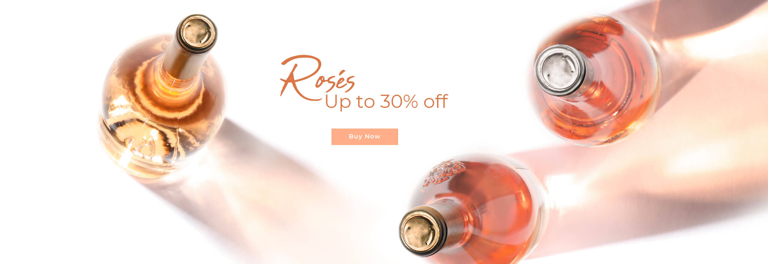 Rosé Discounts up to 30%