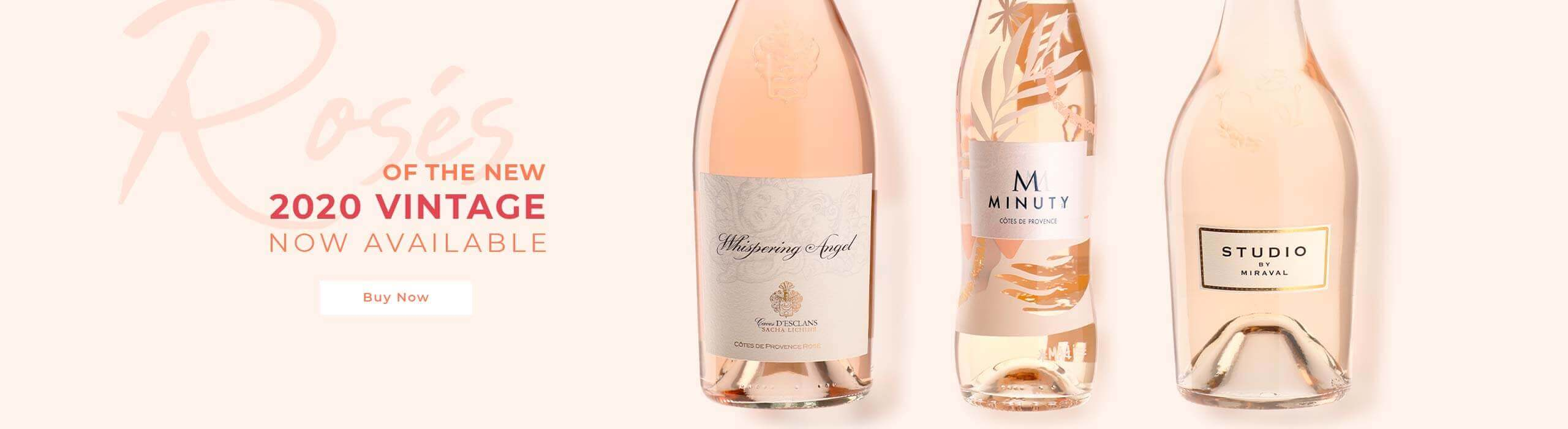 Rosés: discover the new 2020 vintage!
