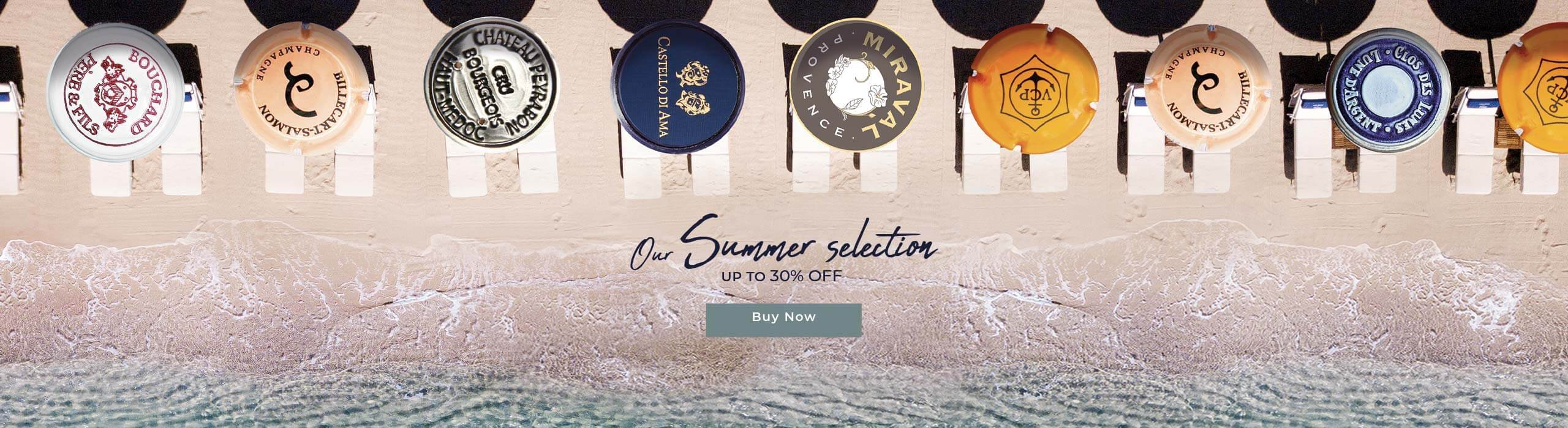 Summer Selection: up to 30% off!