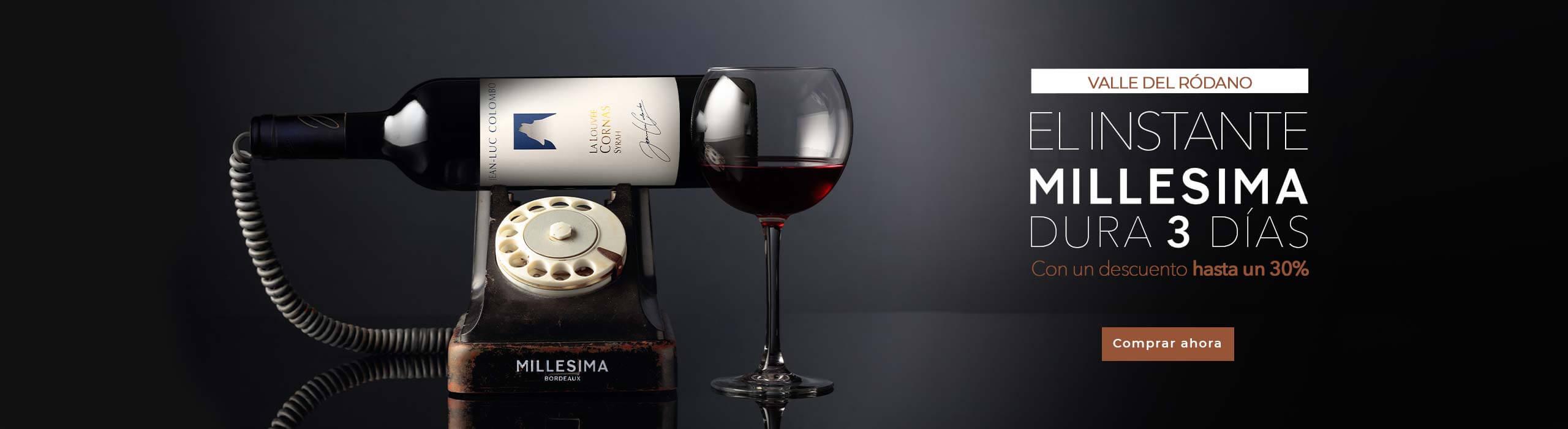 Un descuento hasta un 30% en una selección de vinos del Valle del Ródano durante 72 horas