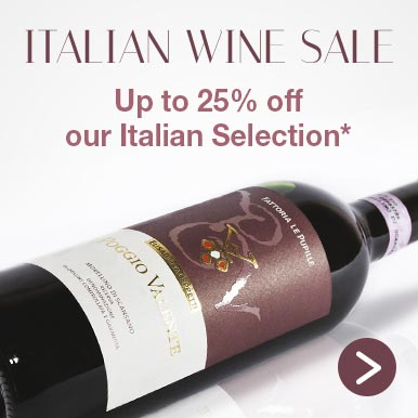Up to 25% off our Italian Selection