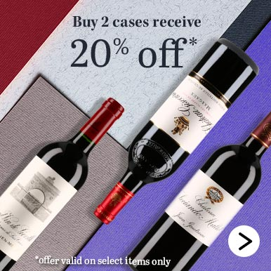 Buy 2 cases receive 20% off*