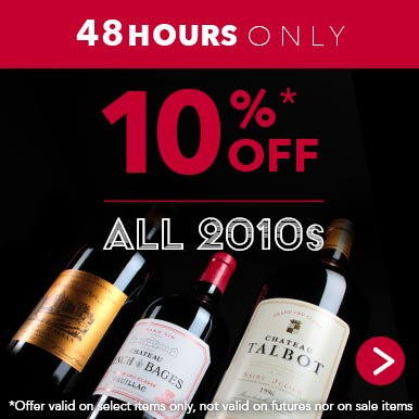 8 hours only: 10% off all 2010s