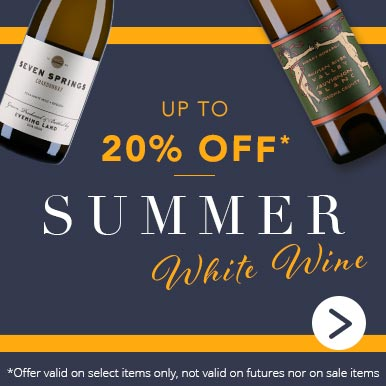 Up to 20% off summer white wine
