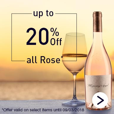 Up to 20% off all Rose