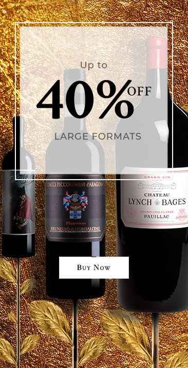 48 hours only. Up to 33% off. Large format bottles. Offer valid on select items.
