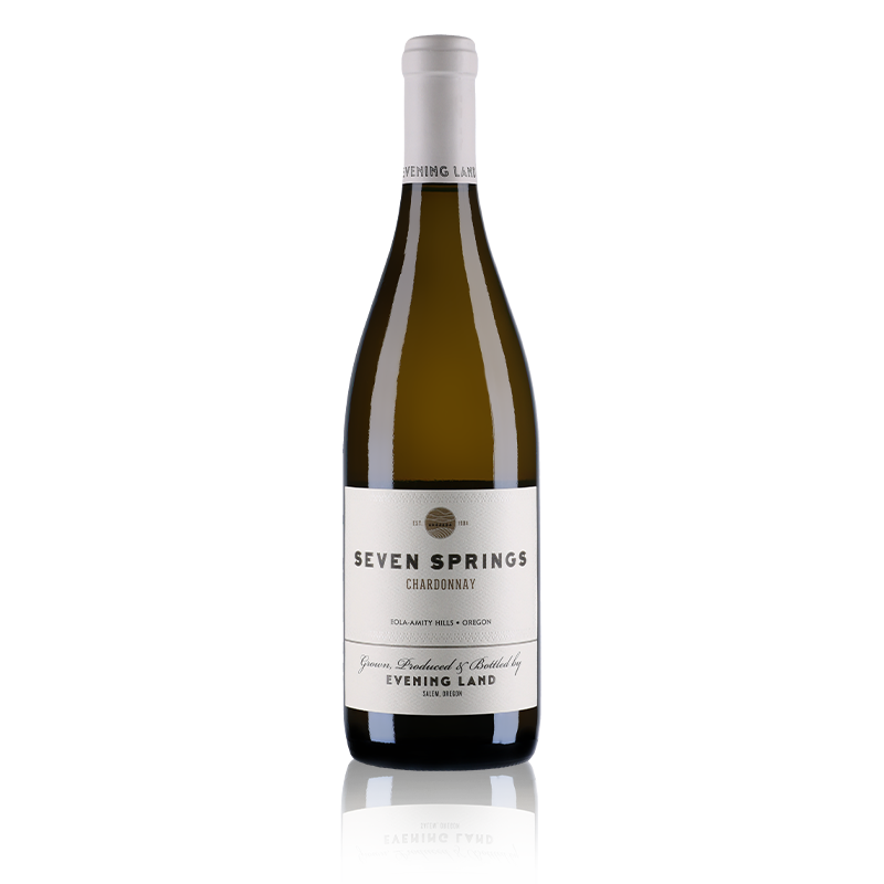 Evening Land Vineyards : Seven Springs Chardonnay White Label 2017