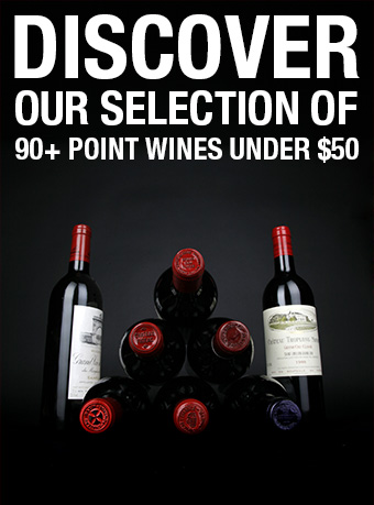 Discover our selection of wine advocate's 90+ under $50