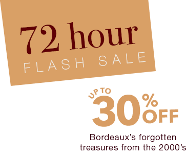 Enjoy up to 30% off this fine selection from Bordeaux!