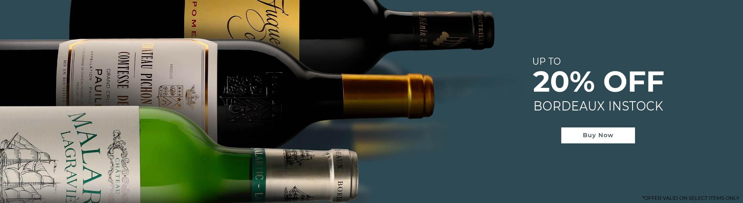 Instock Bordeaux flash offer