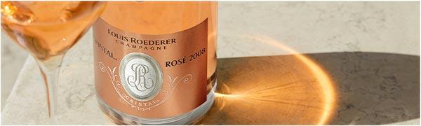 champagne cristal rosé roederer